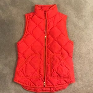 J Crew excursion quilted vest
